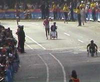 * Storia di Marcello Frignani ragazzo disabile* Testimonianza dei genitori* Partecipazione alla Maratona di New York*