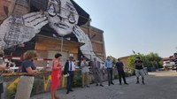 Inaugurati i tre murales per ricordare il 2 agosto