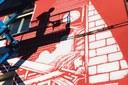 """Il murale è stato realizzato dall'artista modenese Zamoc in via Monte Kosica per il progetto """" Lost&found 1980-2020"""""""