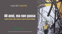Via alla maratona social 'Artisti per il 2 agosto'