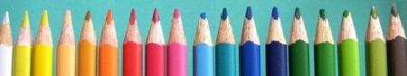 matite colorate archivio