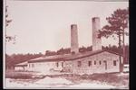 Auschwitz, 194. Il Crematori IV in una foto scattata dalle SS.