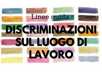 linee guida discriminazioni