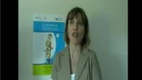 """L'intervista alla Componente CORECOM ER Arianna Alberici in occasione del seminario di presentazione dei risultati della ricerca dal titolo """"La rete siamo noi""""."""