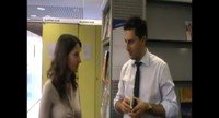 Giampaolo Colletti, Presidente FEMI, illustra la situazione delle Web Tv durante la conferenza stampa del 26 settembre 2011.