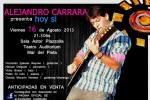 Concerto del folklorista Alejandro Carrara a Mar del Plata