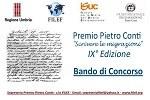 """Premio """"Pietro Conti"""" sulle migrazioni"""