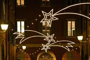 Luminarie centro storico Modena