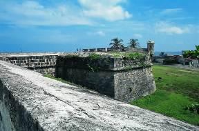 Cartagena de Indias. Baluarte de Santa Catalina. Bautista Antonelli 1595