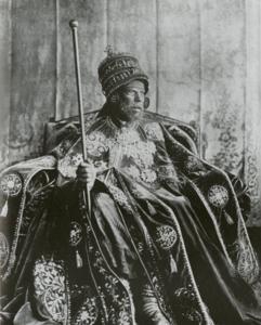Il Negus Menelik II
