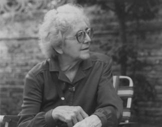 Luce Fabbri in Uruguay, già anziana