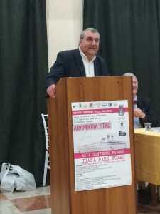 Il Consultore Conti durante il suo intervento