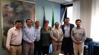 Il presidente Molinari incontra una delegazione di Lumaco (Cile)
