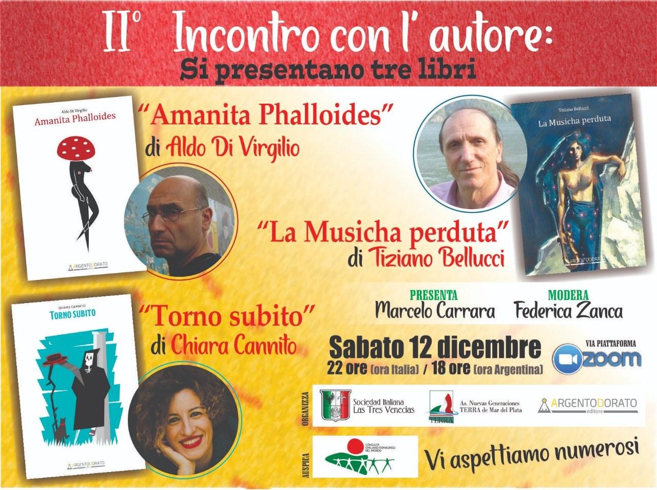 Le associazioni italiane di Mar del Plata portano la letteratura italiana in Argentina