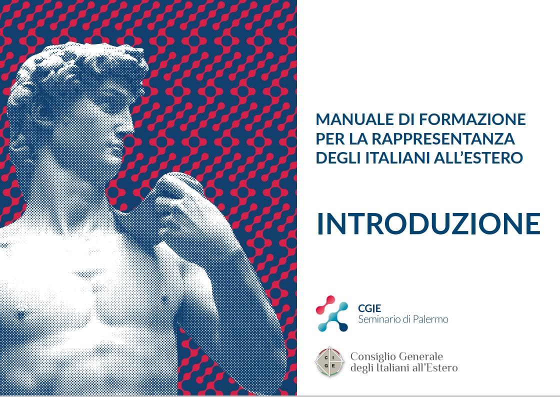 Manuale di formazione per la rappresentanza degli italiani all'estero