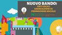 Online il Bando per contributi ad Enti Locali e ad Associazioni di promozione sociale 2020