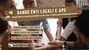 Online l'edizione 2021 del Bando per contributi ad Enti Locali e ad Associazioni di promozione sociale