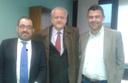 Gian Luigi Molinari e Alessandro Cardinali incontrano l'ex consultore Claudio Melloni