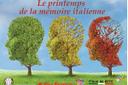 La primavera della memoria italiana arriva a Parigi