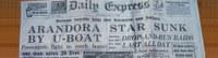 77° anniversario affondamento Arandora Star