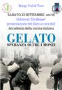"""""""GELATO, SPERANZA OLTRE I MONTI"""": un gelato per raccontare l'emigrazione di Borgo Val di Taro"""