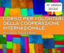 Corso per volontari della cooperazione internazionale
