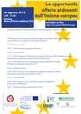 """Le opportunità di mobilità offerte ai docenti dall'Unione europea"""""""