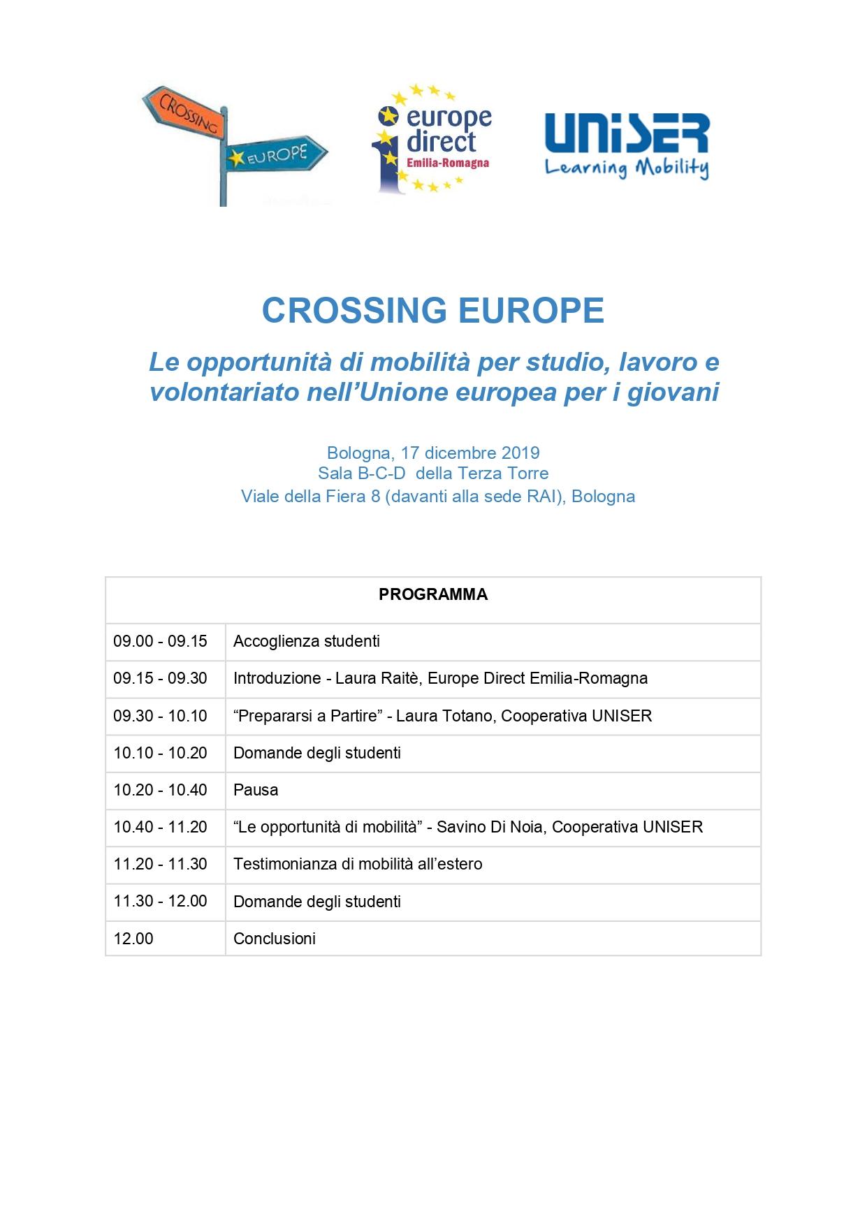 crossing europe 17 dicembre 2019