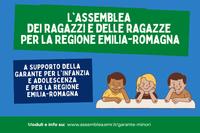 Al via in Emilia-Romagna il progetto dell'Assemblea dei ragazzi e delle ragazze