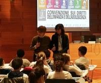 La Garante Garavini accoglie in Assemblea 150 bimbi delle elementari di Bologna per i 30 anni della Convenzione Onu sui diritti dei fanciulli
