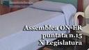 Assemblea ON-ER, la Regione investe nello sport, ASL rifonde paziente dopo intervento del difensore civico, chiude OPS, aprono le REMS (15^ puntata X Legislatura)