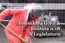 Assemblea ON-ER, misure per il sostegno del settore dell'edilizia (18^ puntata X Legislatura)