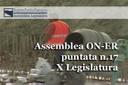 Assemblea ON-ER, nasce la Consulta regionale contro le mafie (17^ puntata X Legislatura)