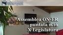 Assemblea ON-ER, nuovi requisiti per accesso alloggi ERP, nel 2015 4 milioni per il cinema, veicoli storici esentati da tassa (16^ puntata X Legislatura)