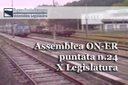 Assemblea ON-ER, sì al piano triennale dei trasporti 2016-2018 (24^ puntata X Legislatura)