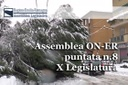 Assemblea ON-ER, terremoto, il punto sulla ricostruzione. Maltempo, società multiservizi in Commissione (8^ puntata X Legislatura)