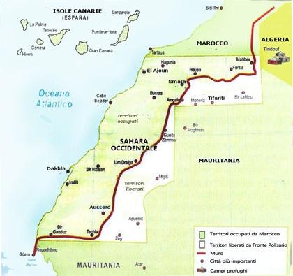 Cartina Spagna E Marocco.La Questione Saharawi Assemblea Legislativa Regione Emilia Romagna