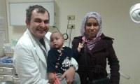 Bimbo Saharawi guarito all'ospedale S.Orsola