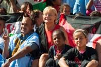 Sabato a Reggio Emilia delegazione di bambini con la presidente Saliera apre le Olimpiadi del Tricolore